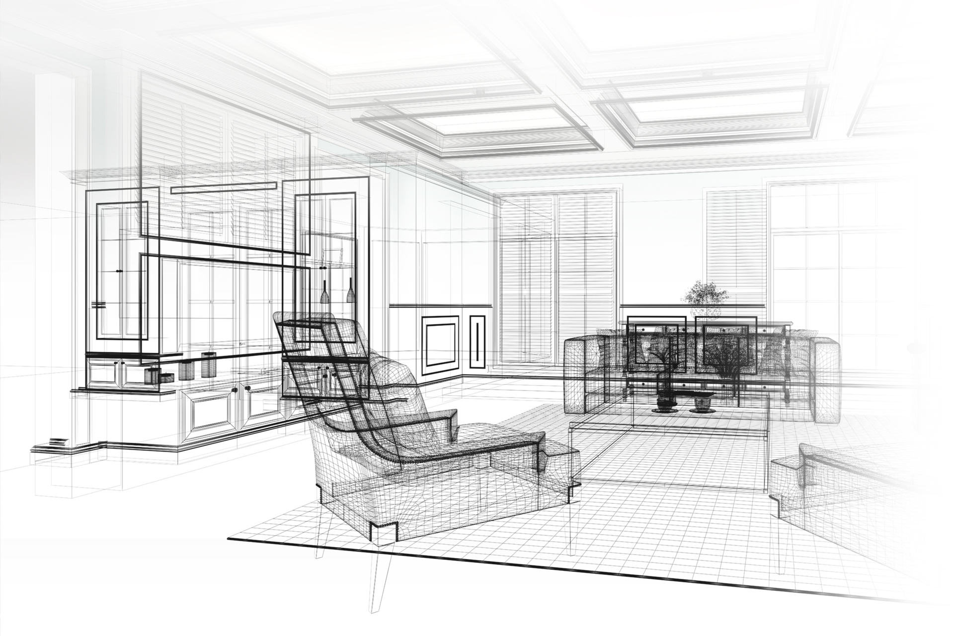 3d wandpaneele - design ideen - inspiration - deckenpaneele - 3d, Hause deko