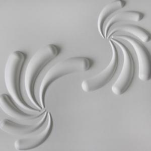 3D Wandpaneele - Produkte - 500x500 - Jonas - Deckenpaneele - 3D Tapeten - Wandverkleidung
