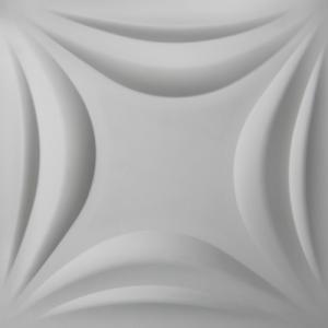 3D Wandpaneele - Produkte - 500x500 - Lily - Deckenpaneele - 3D Tapeten - Wandverkleidung