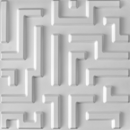 3D Wandpaneele - Produkte - 500x500 - Maze - Deckenpaneele - 3D Tapeten - Wandverkleidung