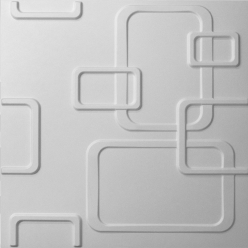 3D Wandpaneele - Produkte - 500x500 - Olina - Deckenpaneele - 3D Tapeten - Wandverkleidung