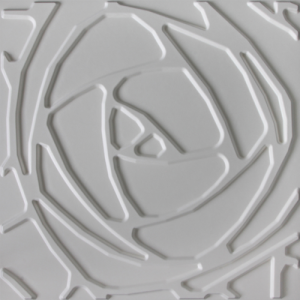 3D Wandpaneele - Produkte - 500x500 - Peony - Deckenpaneele - 3D Tapeten - Wandverkleidung