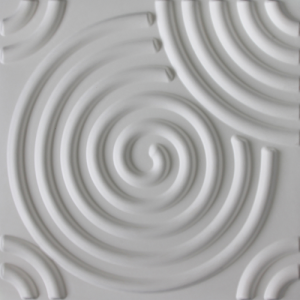 3D Wandpaneele - Produkte - 500x500 - Ripple - Deckenpaneele - 3D Tapeten - Wandverkleidung