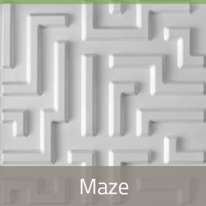 3D Wandpaneele - Produkte - Maze - Deckenpaneele - 3D Tapeten - Wandverkleidung