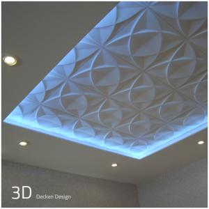 3D Wandpaneel - Decken Design - Deckengestaltung - Deckenpaneele