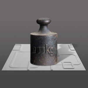 3D Wandpaneele - Belastbar