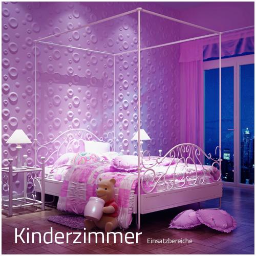 3D Wandpaneele - Einsatzbereich Privat - Kinderzimmer ...