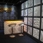 3D Wandpaneele - Messe - living interiors
