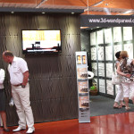 3D Wandpaneele - Messe Bad Salzufflen - Deckenpaneele - 3D Tapeten