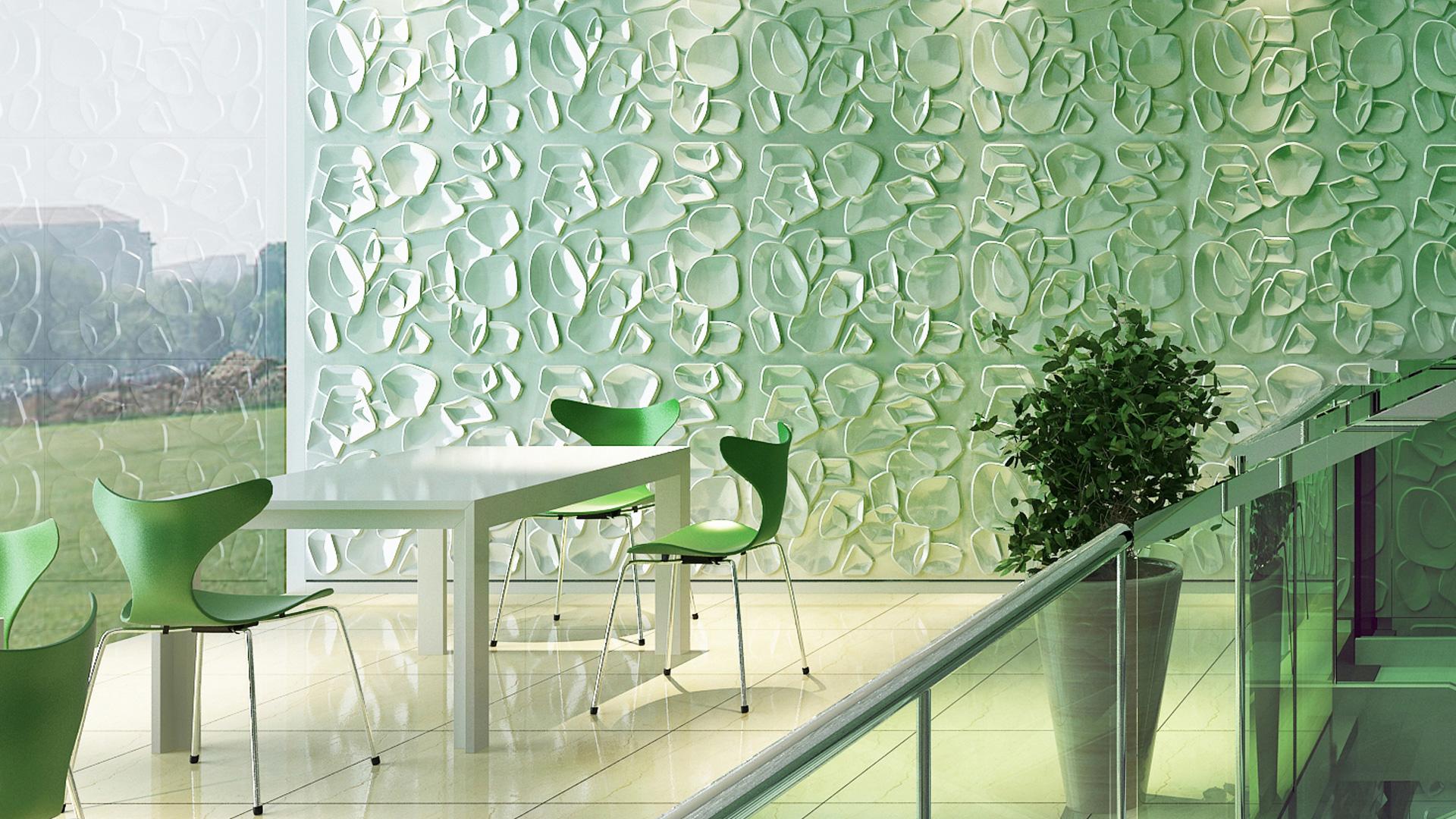 3D Wandpaneele - Produkte - Duckweed - Deckenpaneele - 3D Tapeten - Wandverkleidung