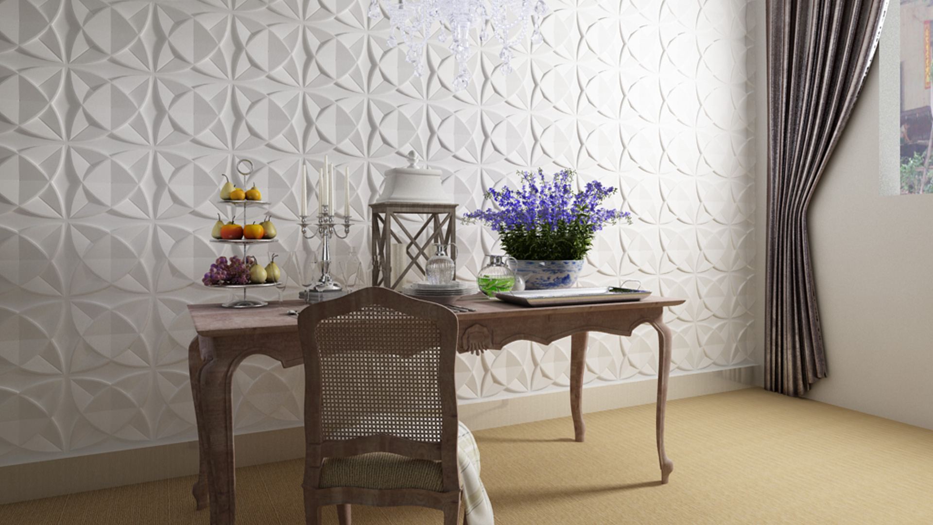Küche und Esszimmer • 3D Wandpaneele | Deckenpaneele ...