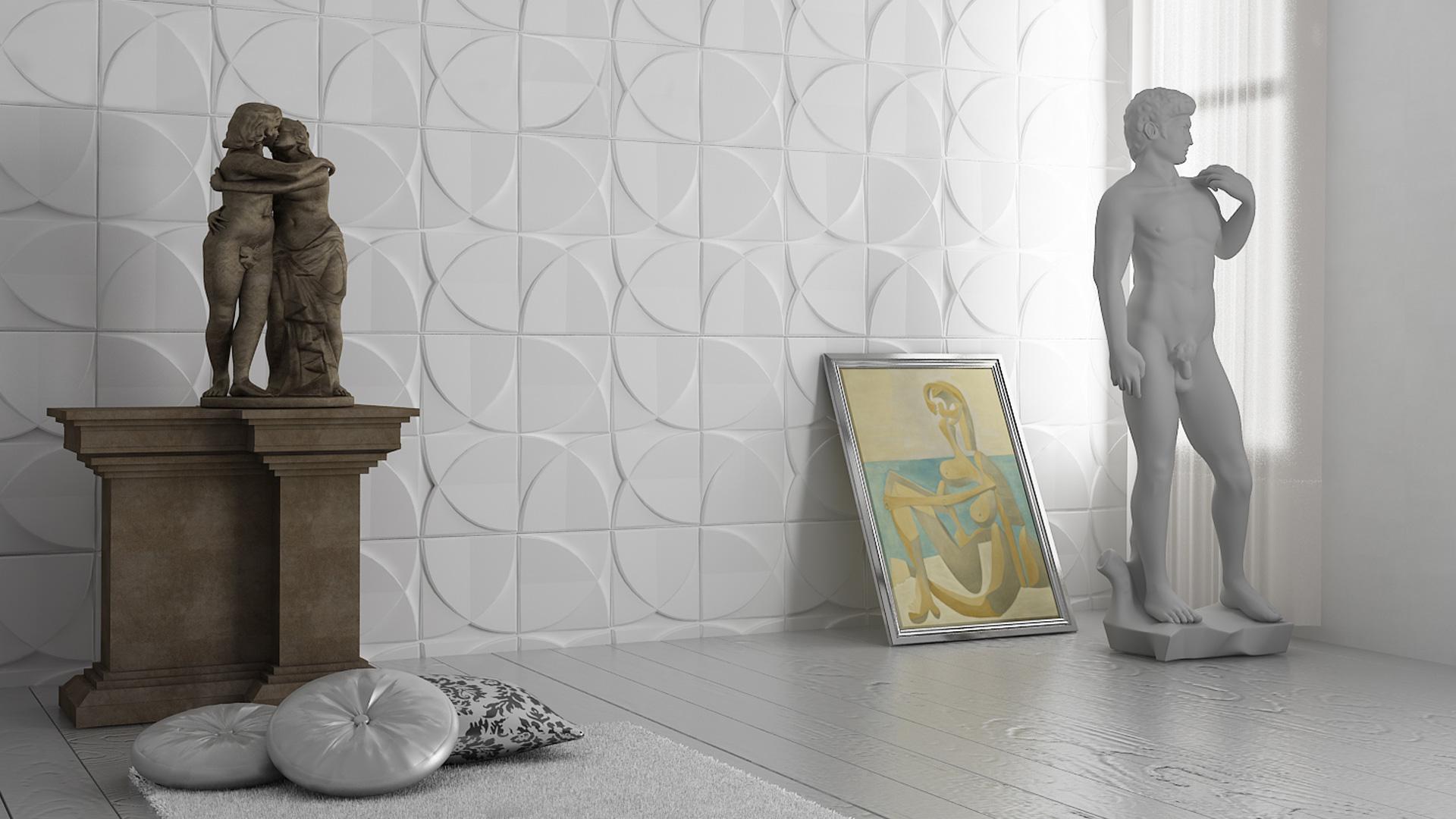 3D Wandpaneele - Produkte - Windmill - Deckenpaneele - 3D Tapeten - Wandverkleidung