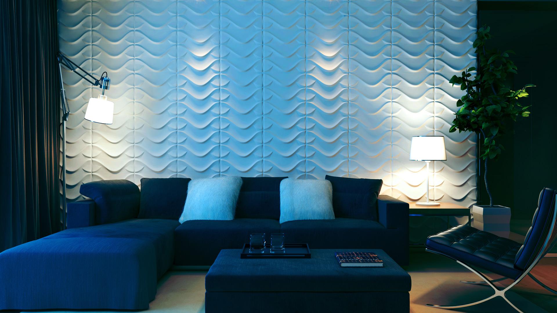 3D Wandpaneele - Produkte - Enric - Deckenpaneele - 3D Tapeten - Wandverkleidung
