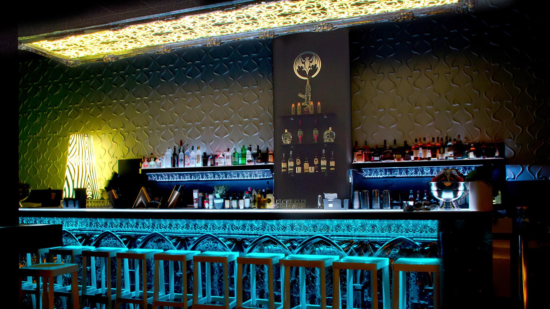 bar, club und discothek • 3d wandpaneele | deckenpaneele, Hause deko