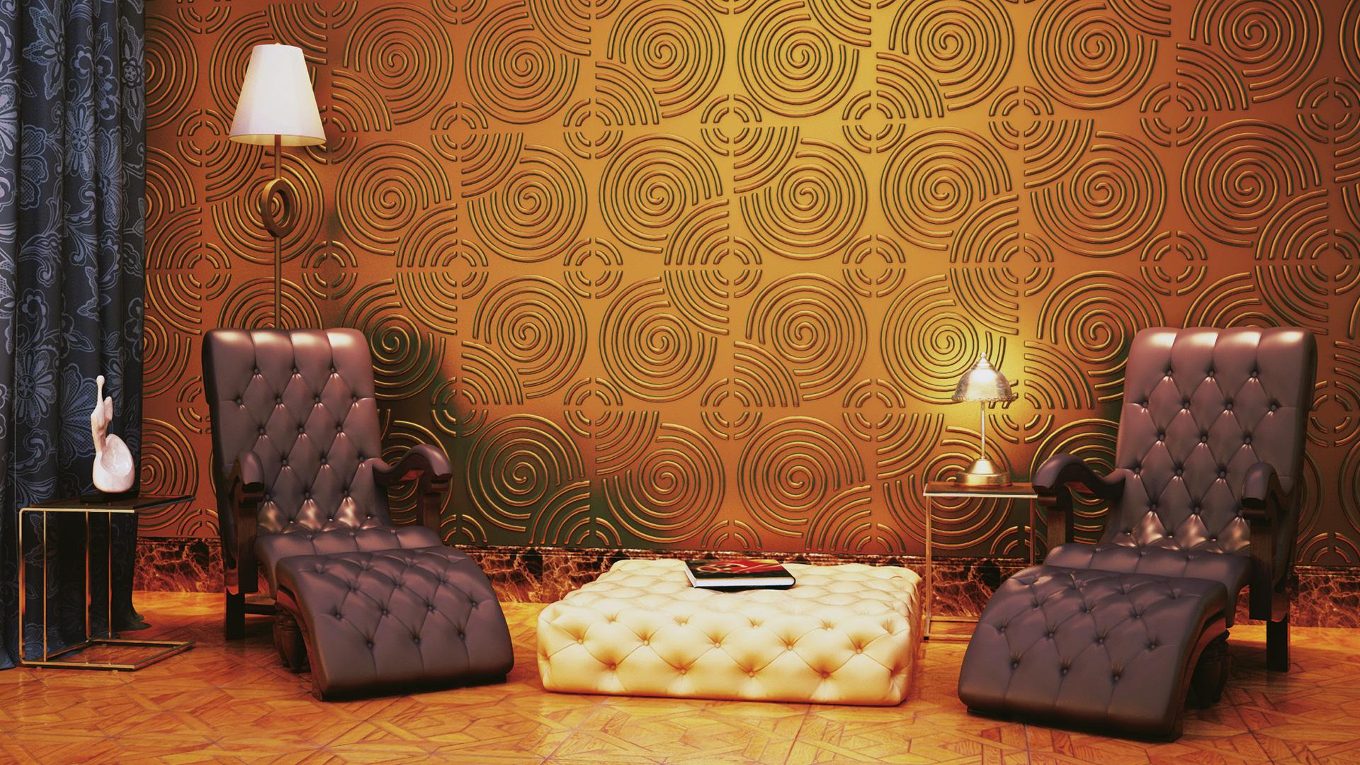 3D Wandpaneele - Produkte - Ripple - Deckenpaneele - 3D Tapeten - Wandverkleidung