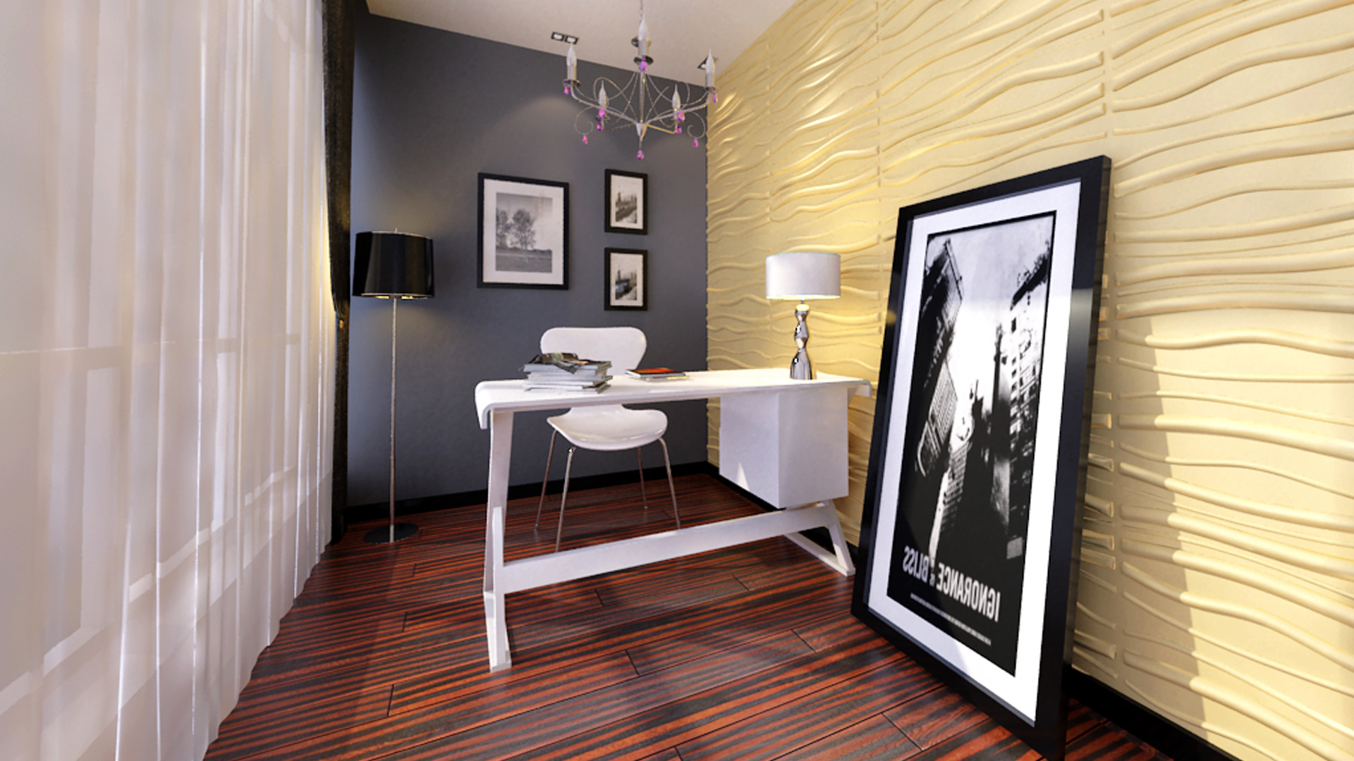 3D Wandpaneele - Produkte - Faktum - Deckenpaneele - 3D Tapeten - Wandverkleidung