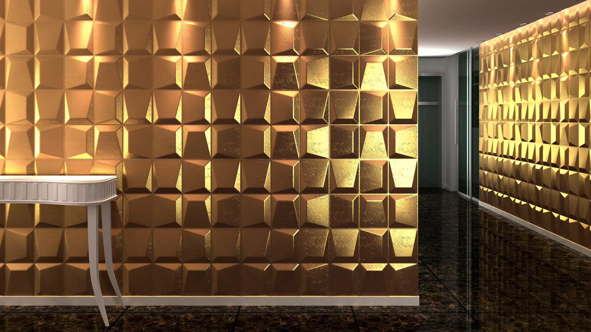 3D Wandpaneele - Produkte - Mosaics - Deckenpaneele - 3D Tapeten - Wandverkleidung