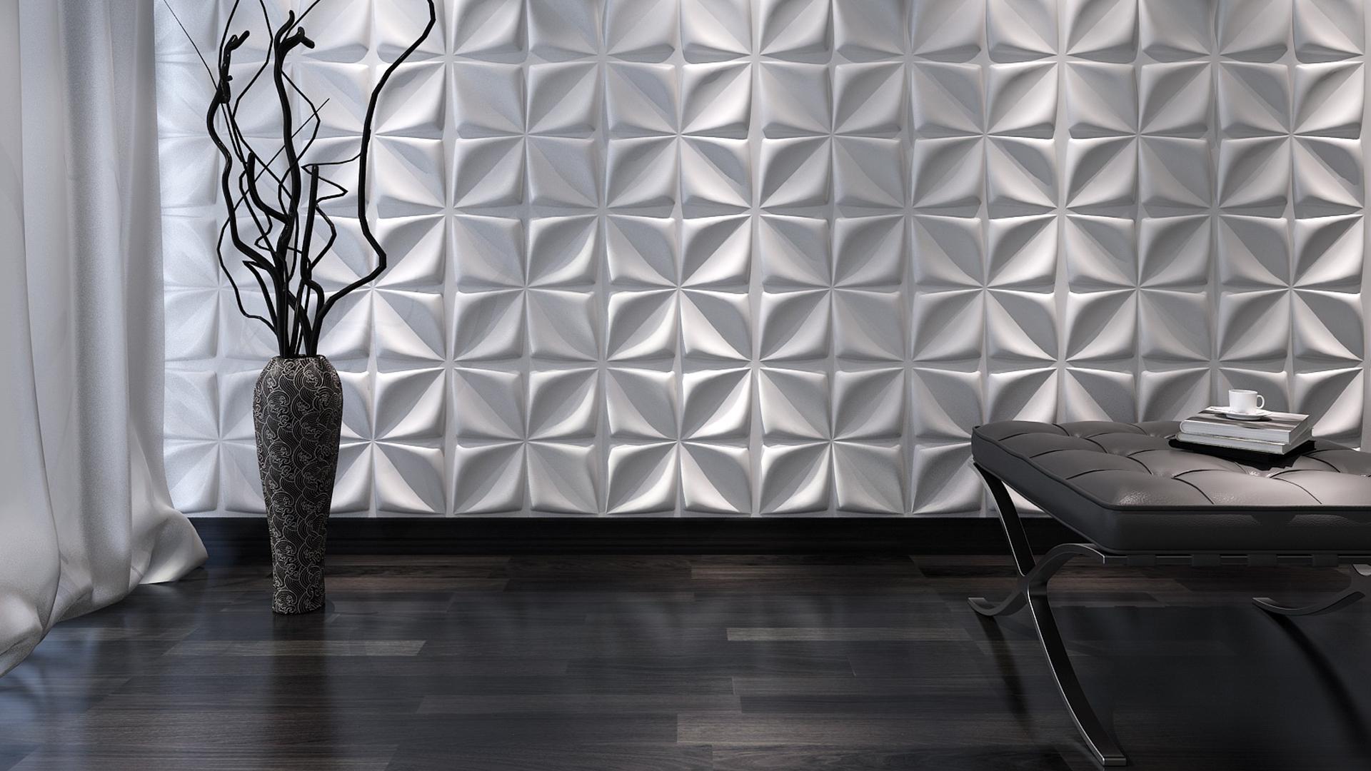 3D Wandpaneele - Aryl - Deckenpaneele - 3D Tapeten