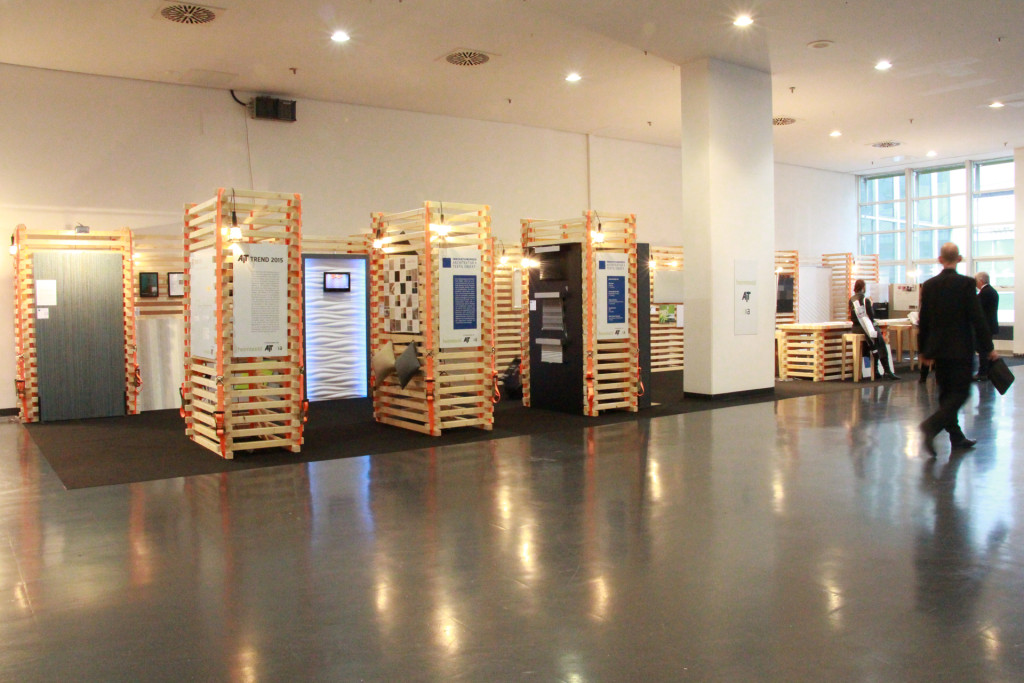 3D Wandpaneele - AIT TREND 2015 - Innovationspreis