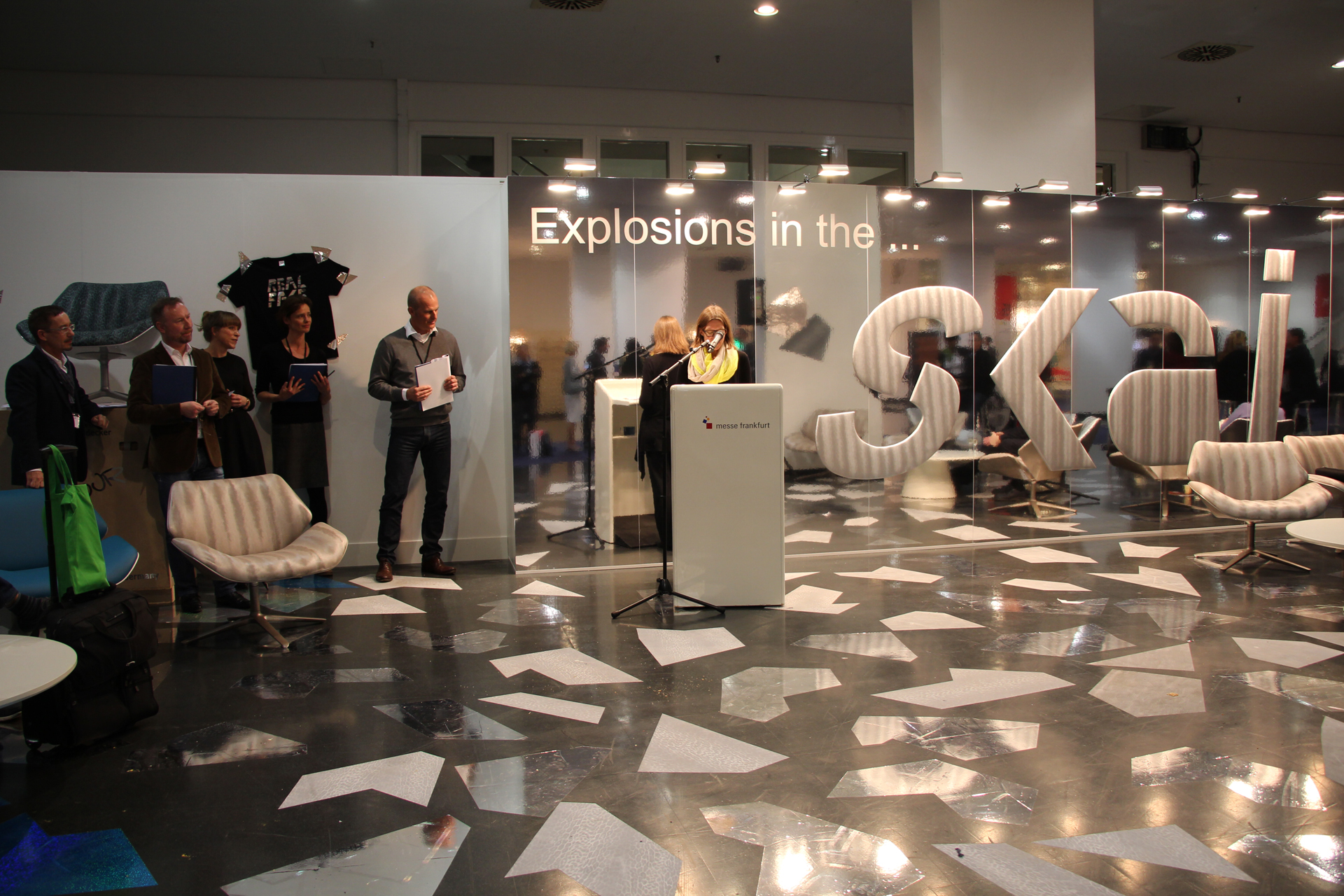 Heimtextil Messe 2015   Innovationspreis   Wandverkleidung, Wandgestaltung    AIT Trend 2015