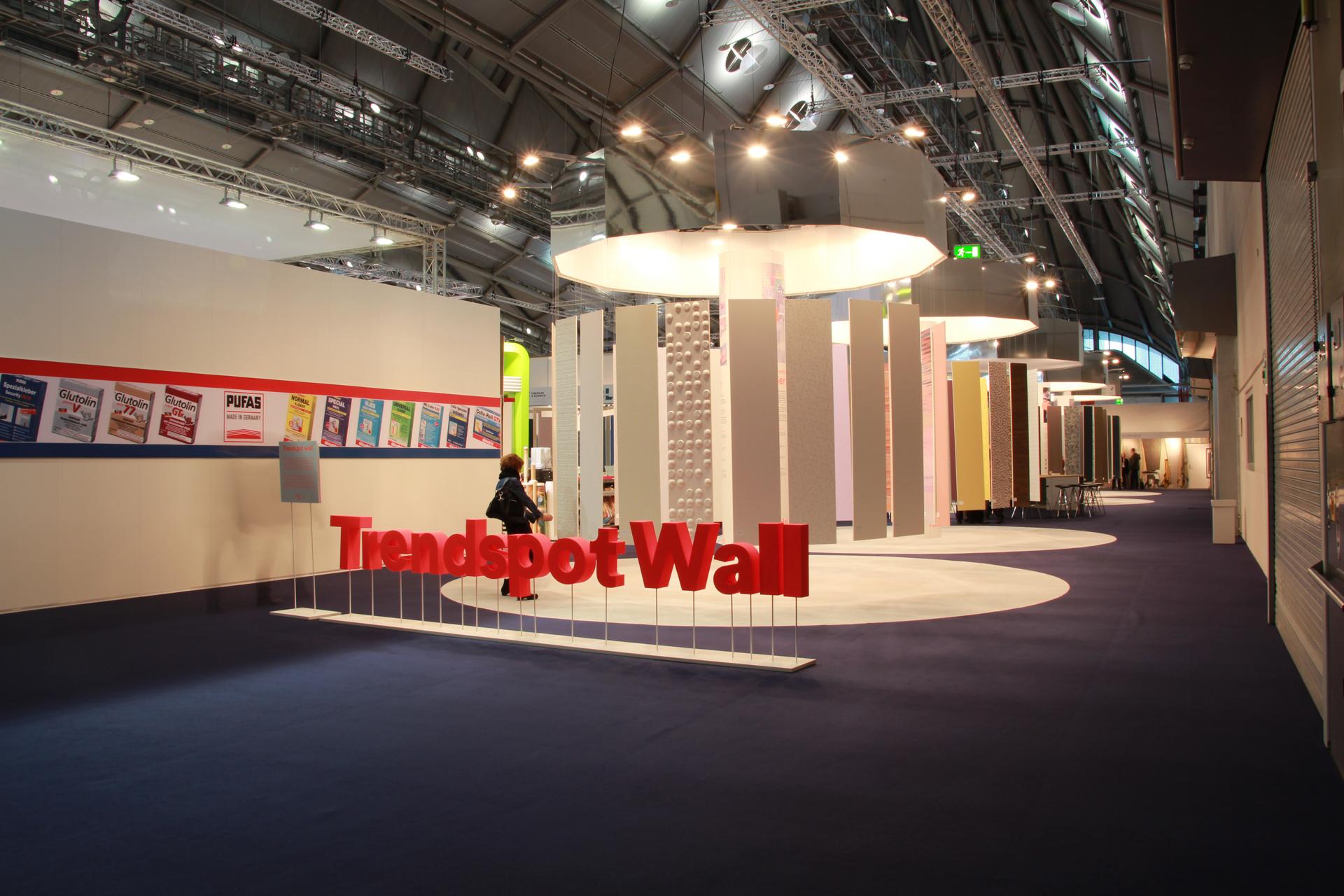 Heimtextil Messe 2015   Trendspot Wall   Wandverkleidung, Wandgestaltung    AIT Trend 2015