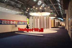 Heimtextil Messe 2015 - Trendspot Wall - Wandverkleidung, Wandgestaltung - AIT Trend 2015