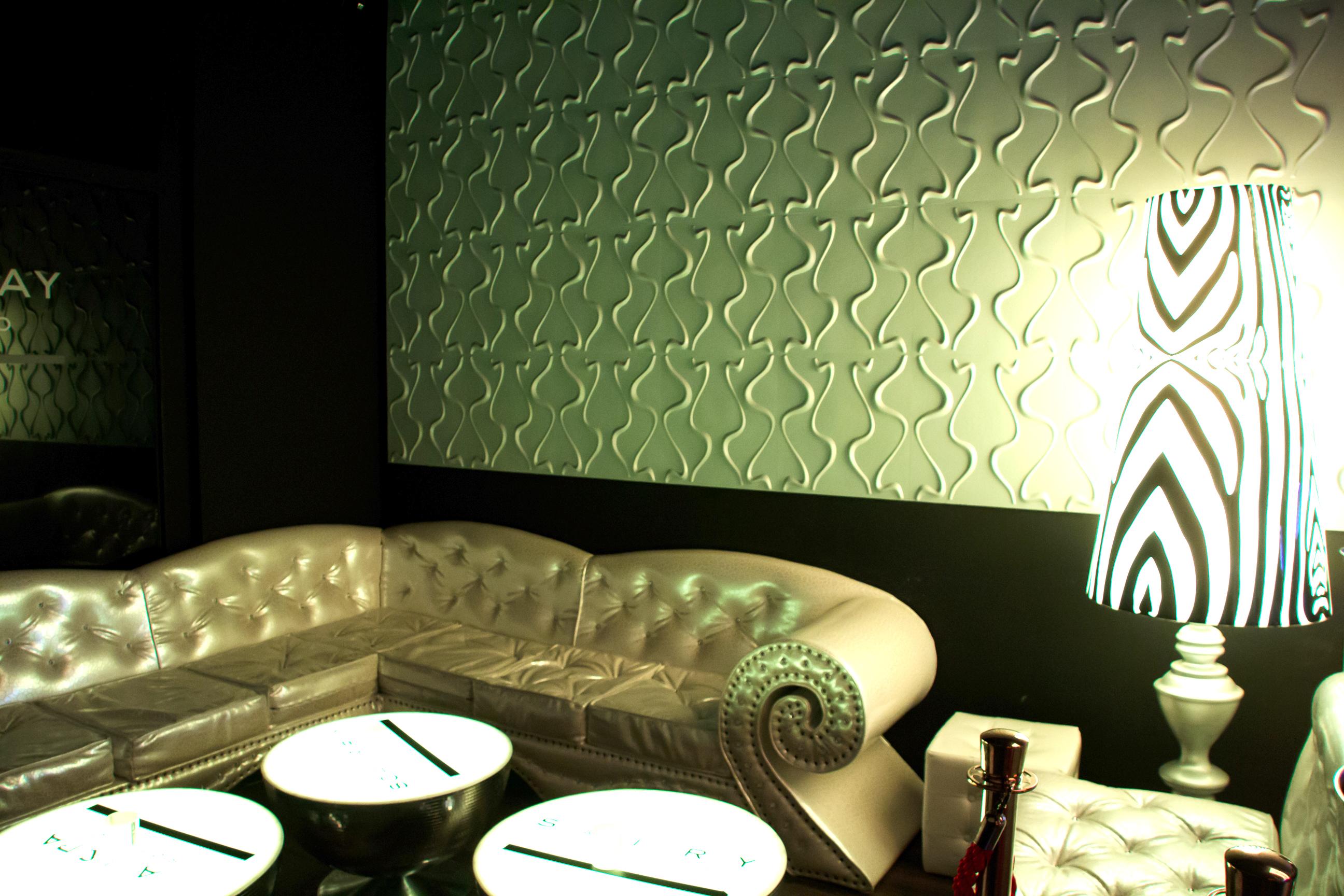 3D Wandpaneele - Referenzen - Phoenix Club - Malm - Deckenpaneele - 3D Tapeten - Wandverkleidung - Verblender