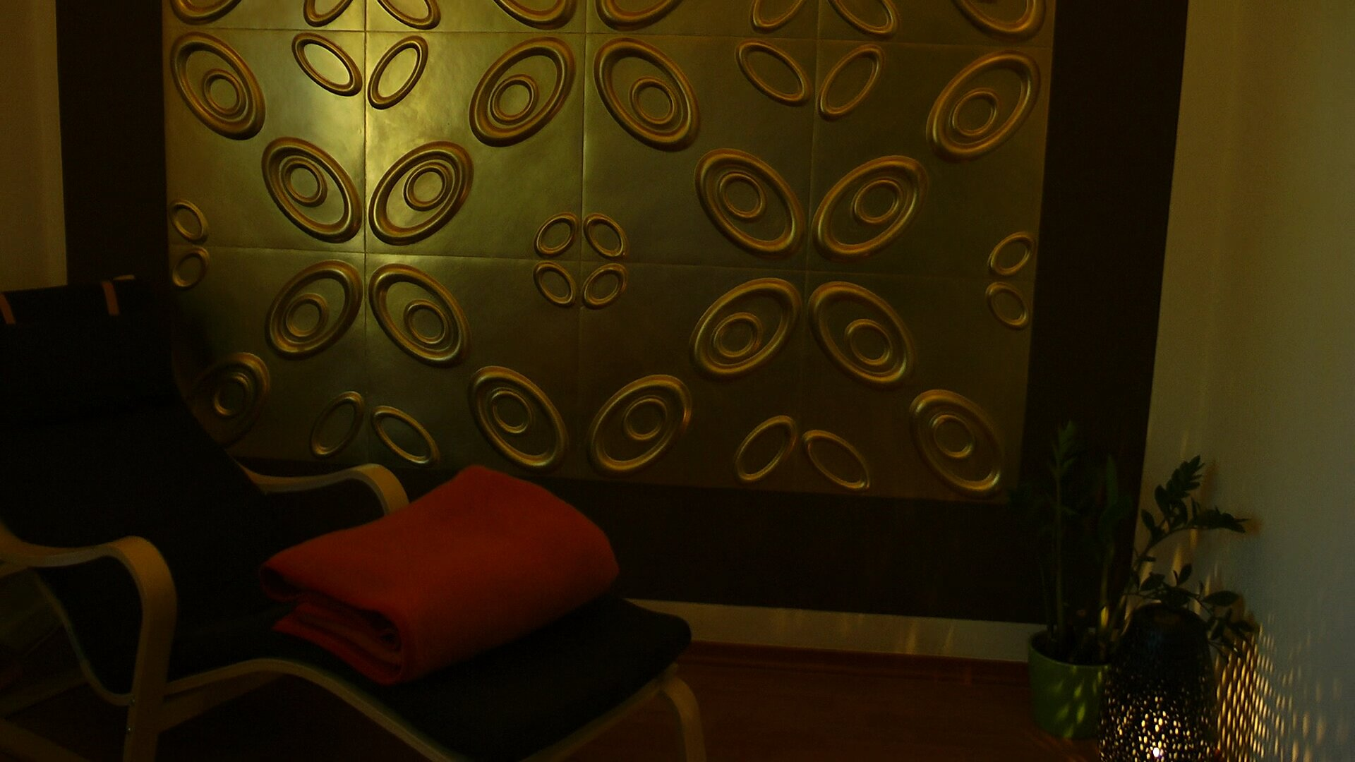 3D Wandpaneele - Referenzen - Vital Resort - Deckenpaneele - 3D Tapeten - Wandverkleidung