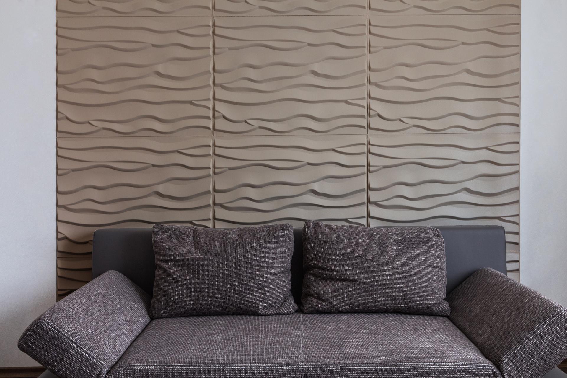 3D Wandpaneele - Referenzen - W. Müller - Beach - Deckenpaneele - 3D Tapeten - Wandverkleidung - Verblender
