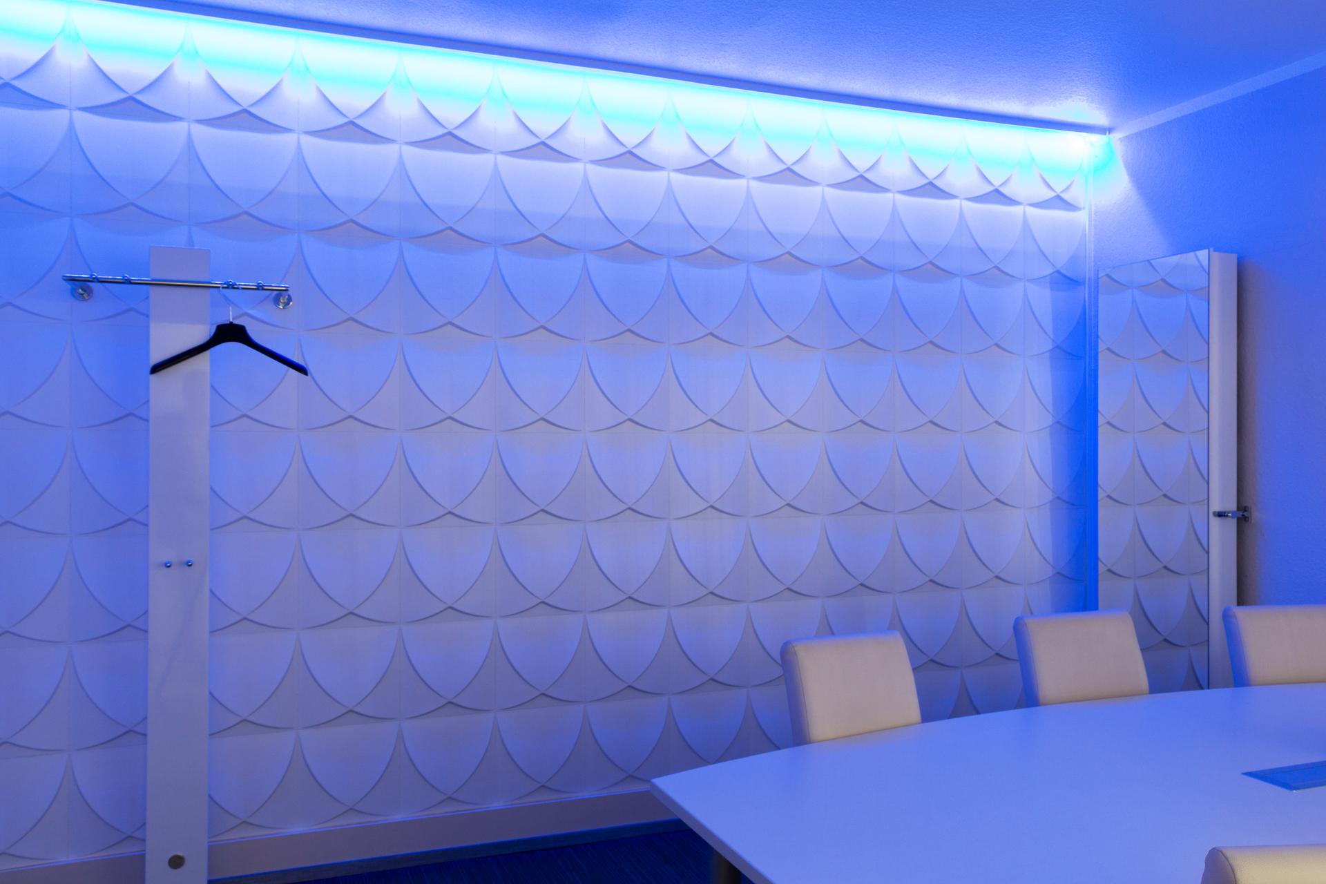 Besprechungsraum • 3D Wandpaneele   Deckenpaneele   Wandverkleidung ...