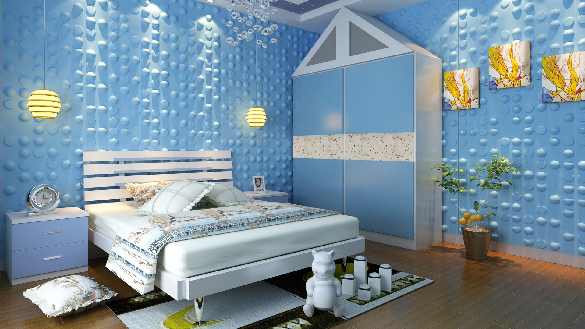 Kinderzimmer 3d Wandpaneele Deckenpaneele Wandverkleidung Aus