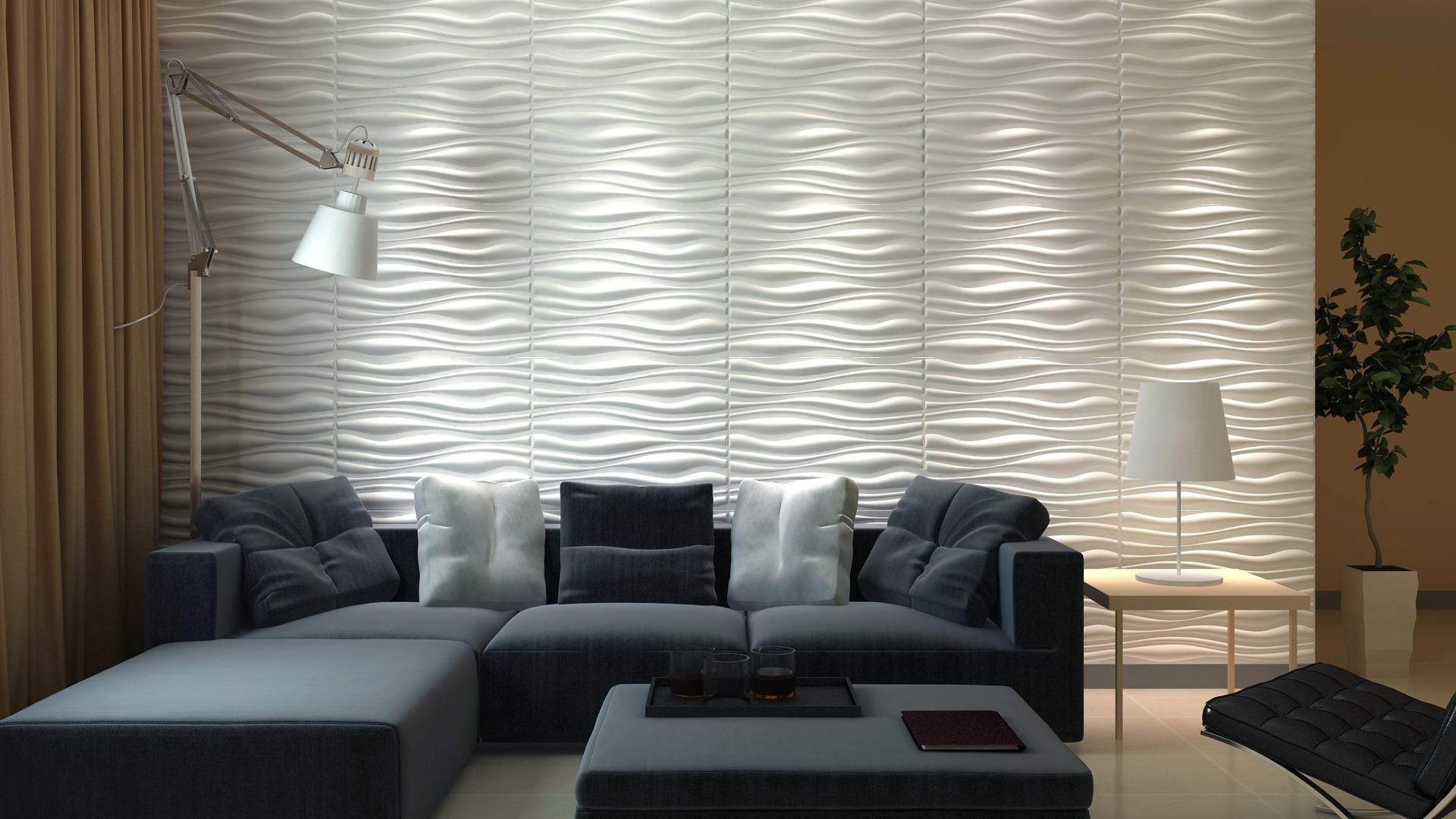 3D Wandpaneele - Produkte - Inreda - Deckenpaneele - 3D Tapeten - Wandverkleidung