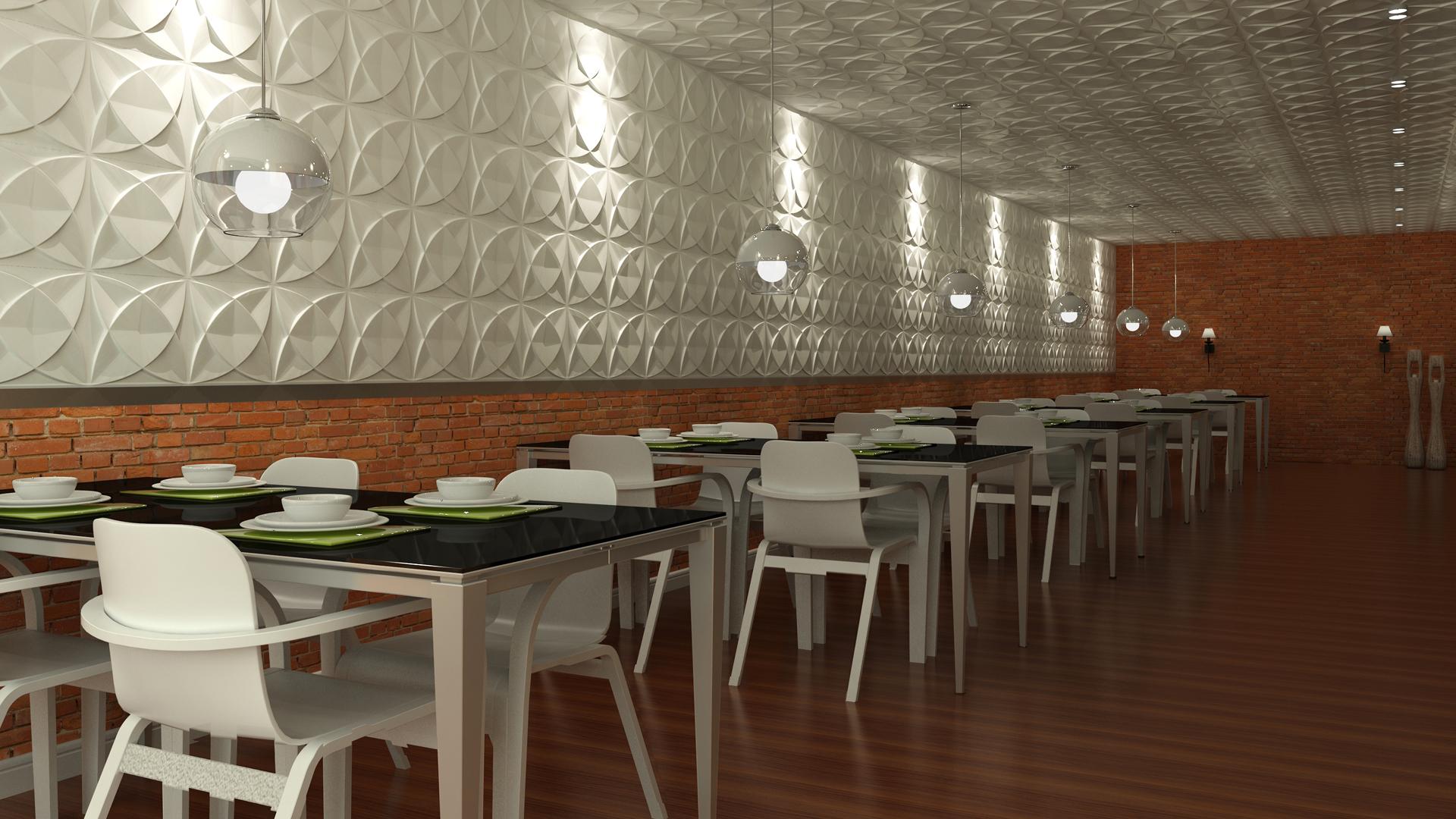 3D Wandpaneele - Produkte - Cosmos - Deckenpaneele - 3D Tapeten - Wandverkleidung