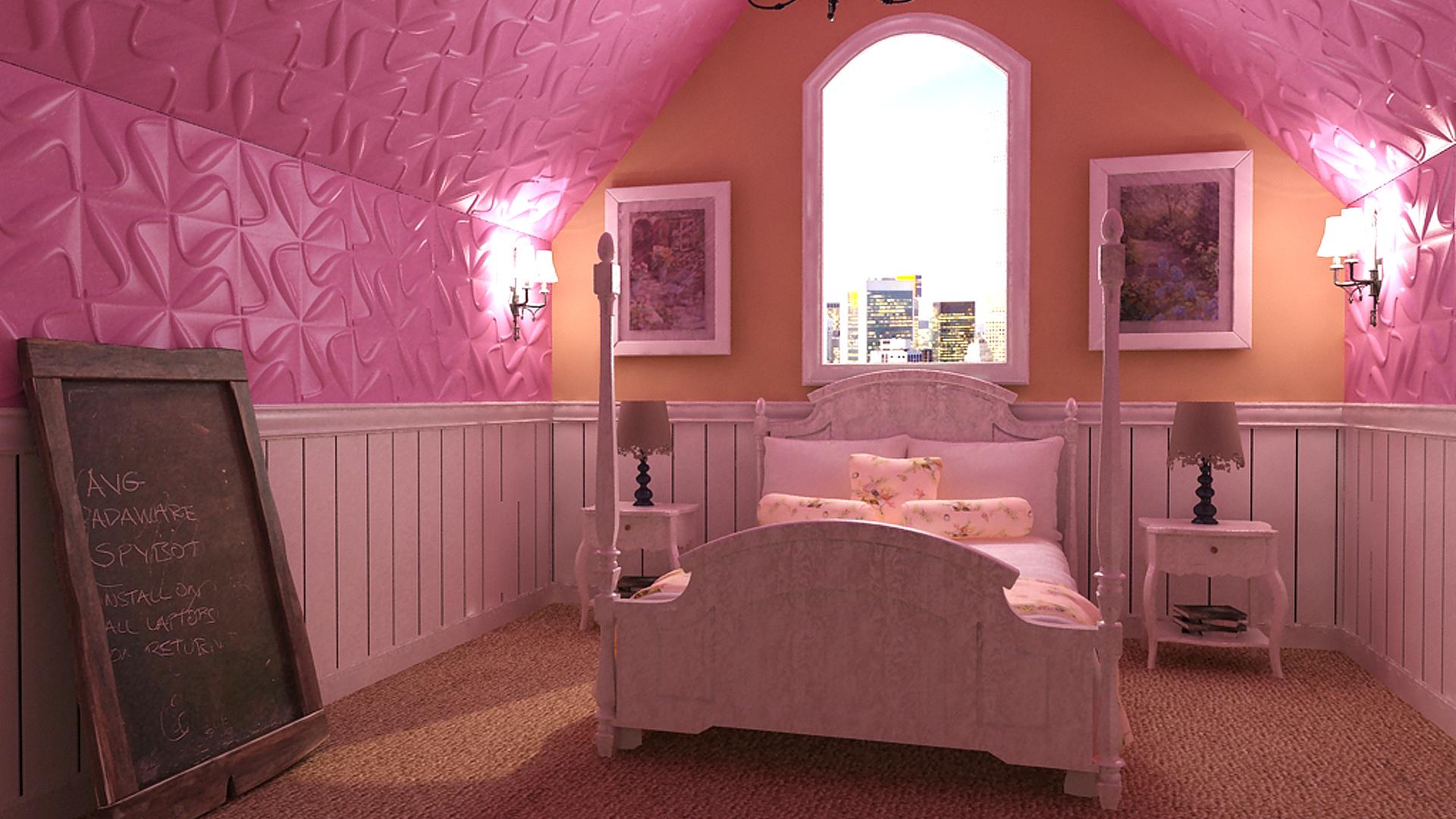 kinderzimmer 3d wandpaneele deckenpaneele wandverkleidung aus bambus. Black Bedroom Furniture Sets. Home Design Ideas