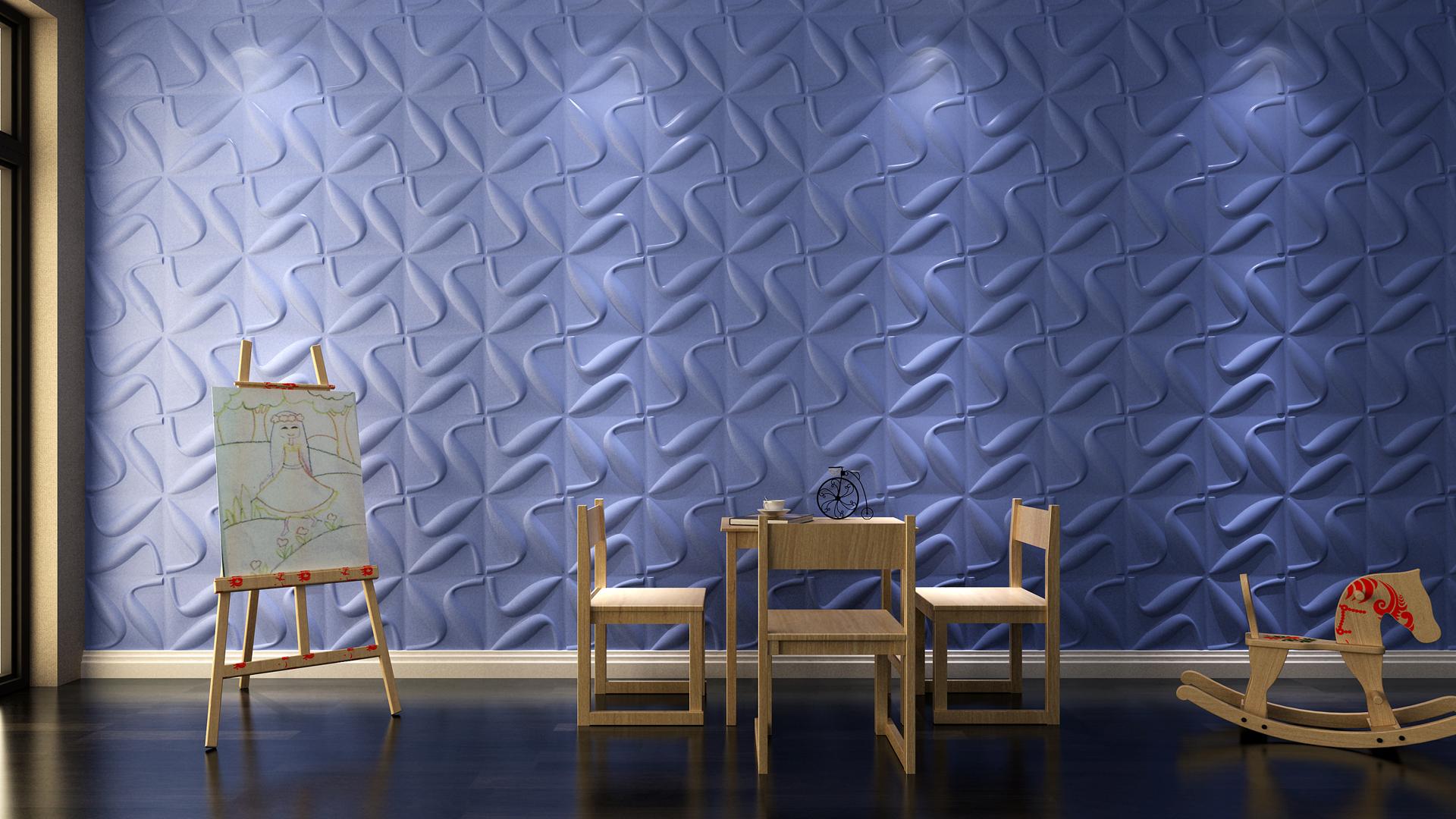 Kinderzimmer • 3D Wandpaneele   Deckenpaneele   Wandverkleidung aus ...