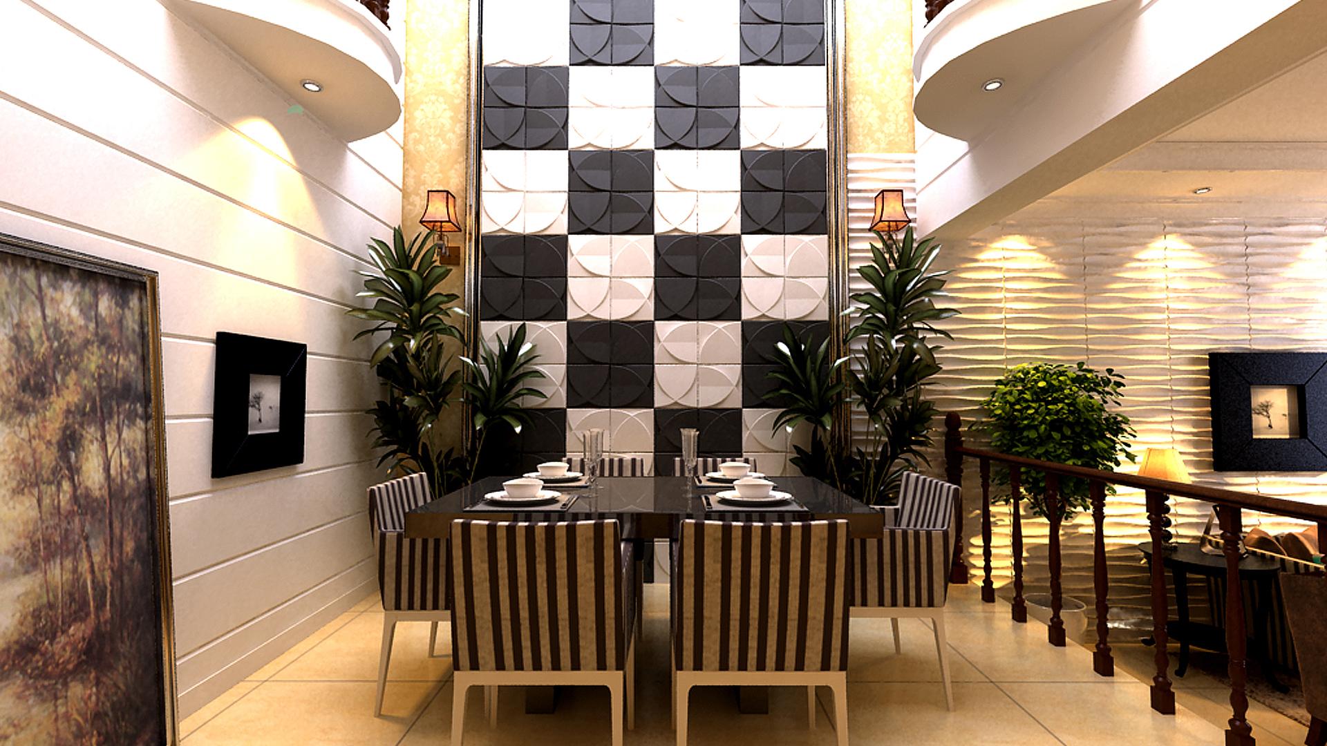 cafes und restaurants • 3d wandpaneele | deckenpaneele, Hause deko