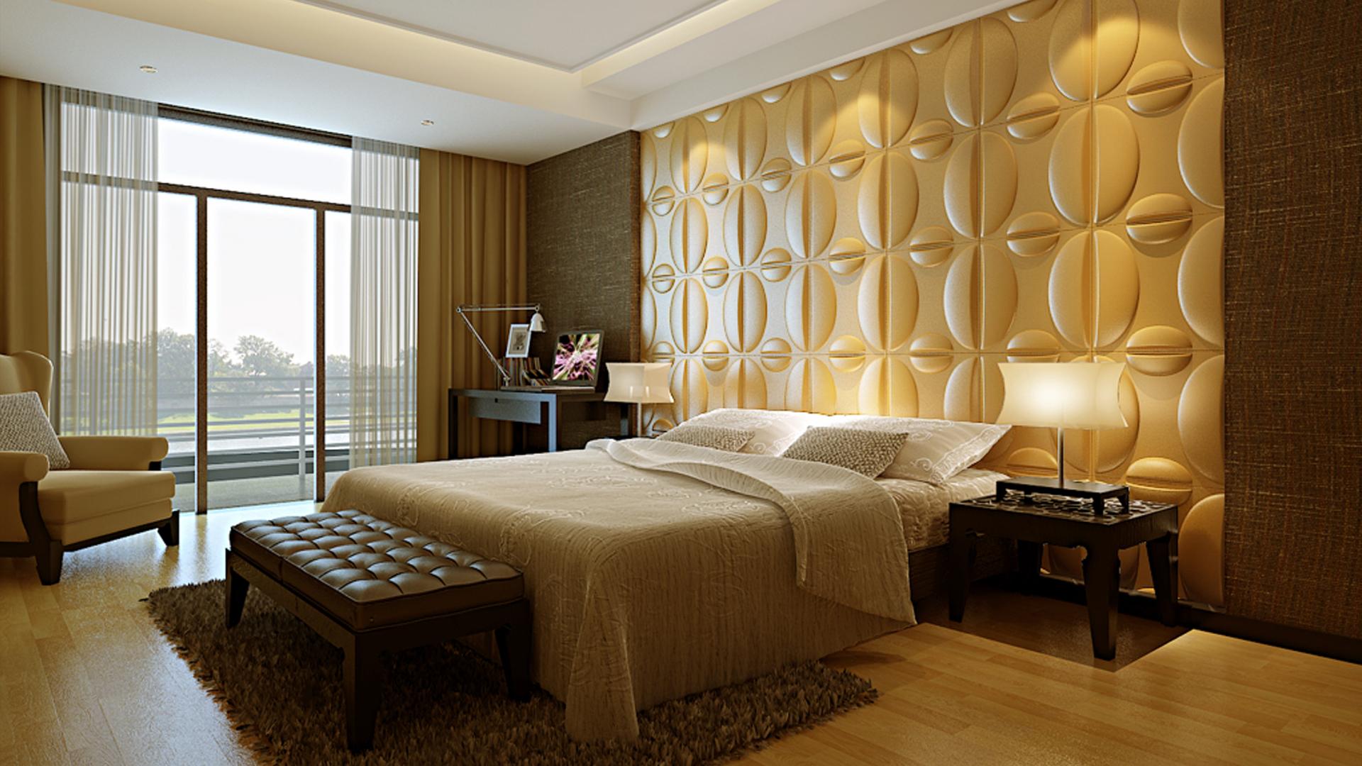 Tapeten Schlafzimmer