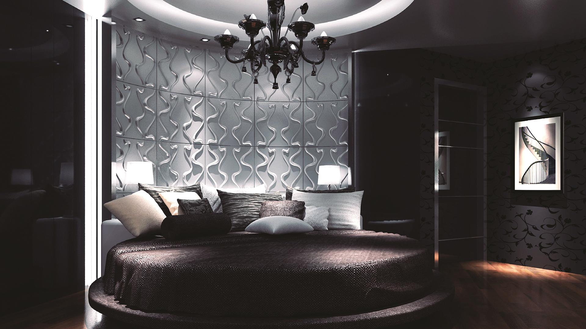 schlafzimmer • 3d wandpaneele | deckenpaneele | wandverkleidung, Hause deko