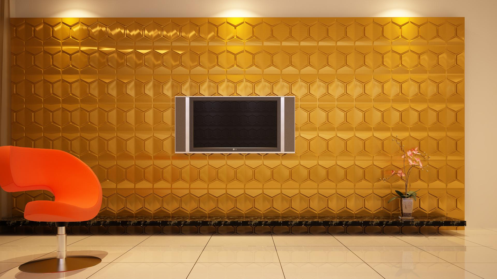 3D Wandpaneele - Produkte - Comb - Deckenpaneele - 3D Tapeten - Wandverkleidung