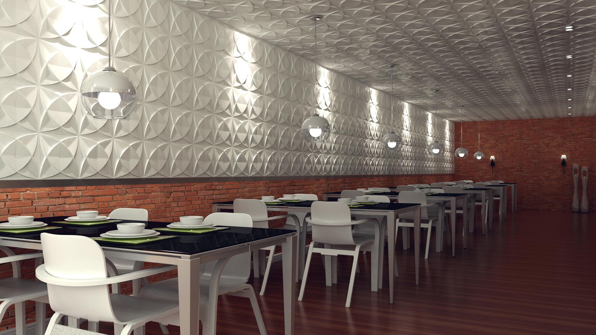 3D Wandpaneele - Cosmos - Deckenpaneele - 3D Tapeten - Verblender