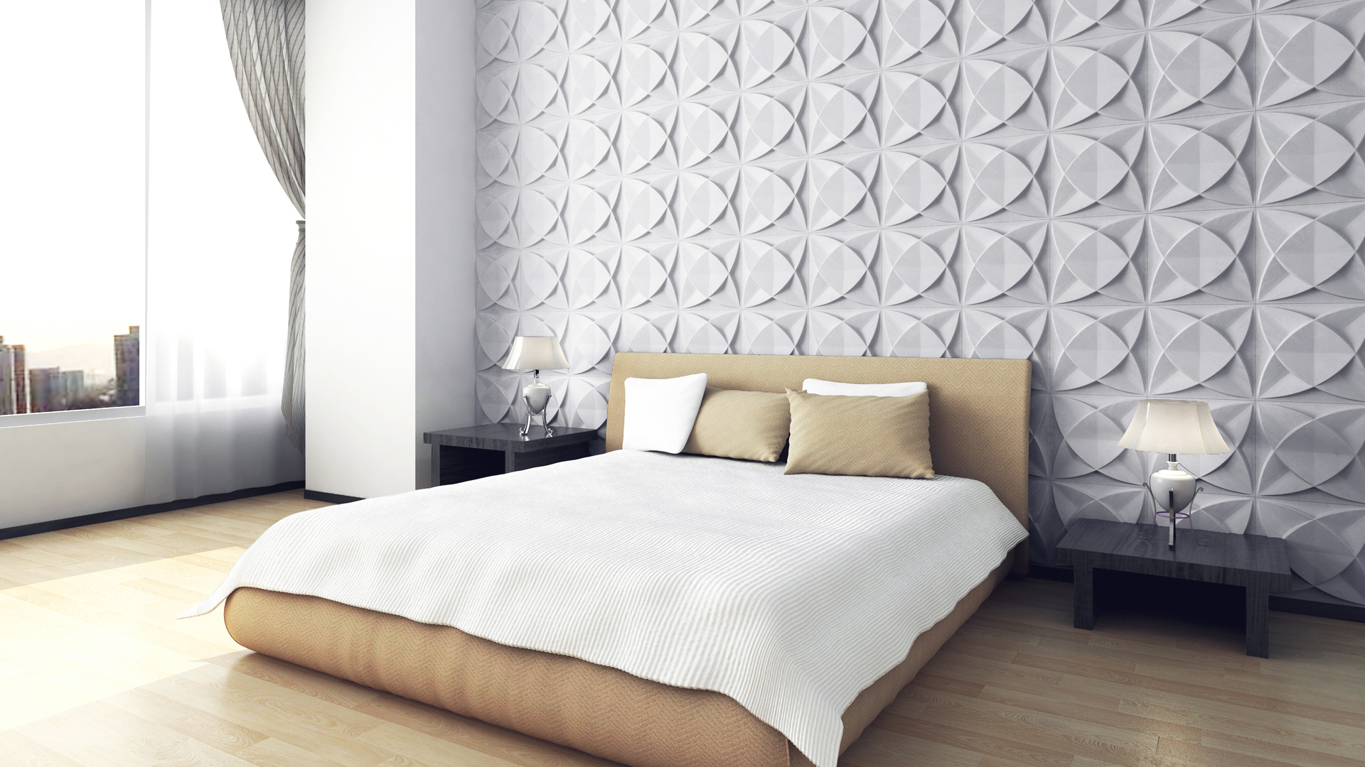 wohnzimmerlampen poco:verblender wohnzimmer beispiele : Design Ideen • 3D Wandpaneele