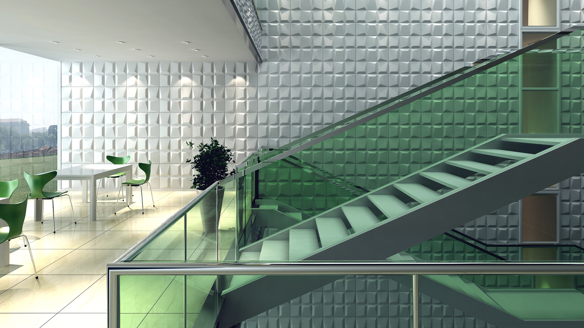 3D Wandpaneele - Mosaics - Deckenpaneele - 3D Tapeten - Verblender