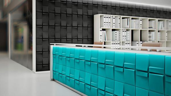 3D Wandpaneele - Produkte - Echo - Deckenpaneele - 3D Tapeten - Wandverkleidung - Verblender