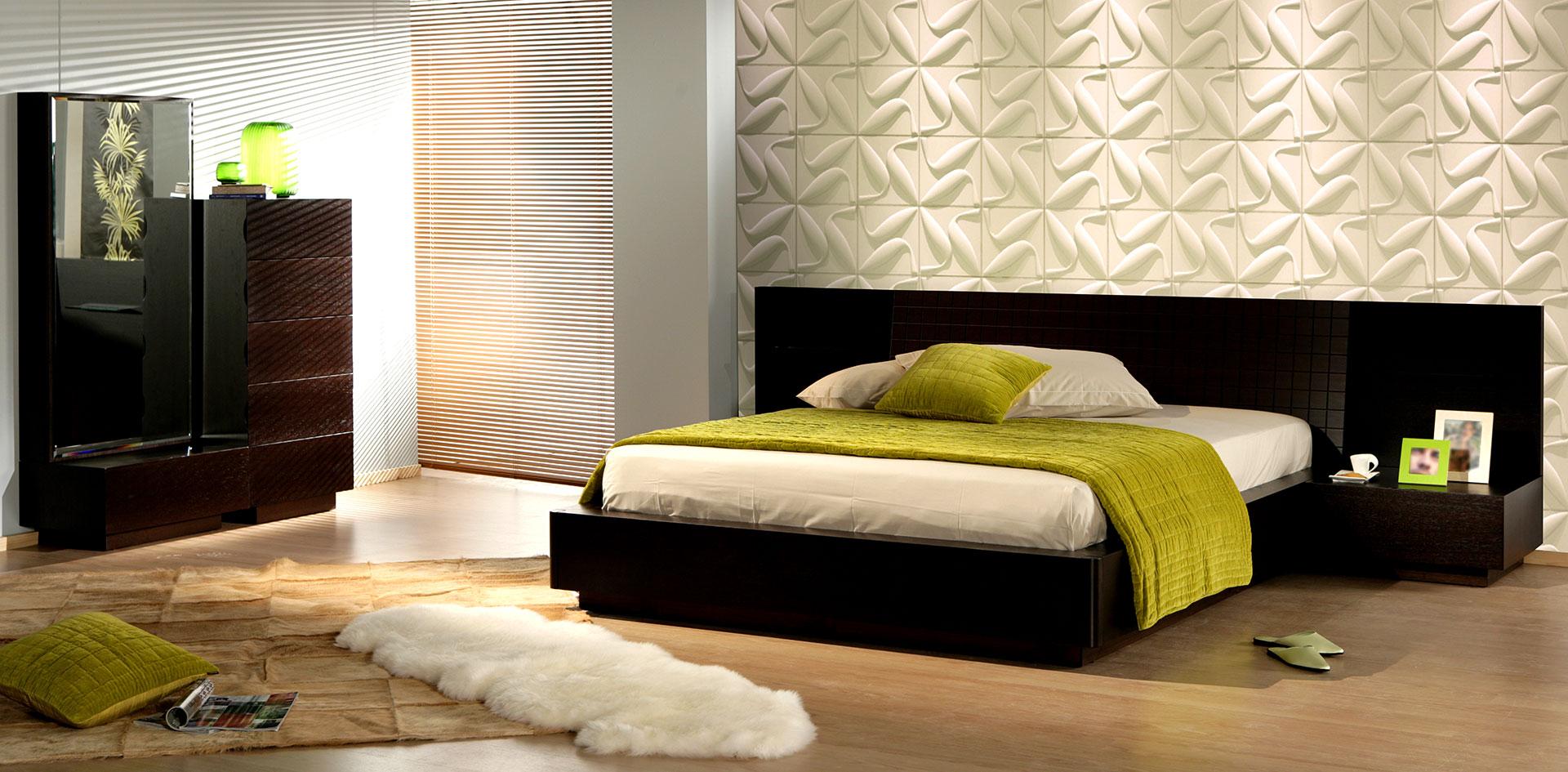 schlafzimmer 3d wandpaneele deckenpaneele wandverkleidung aus bambus. Black Bedroom Furniture Sets. Home Design Ideas