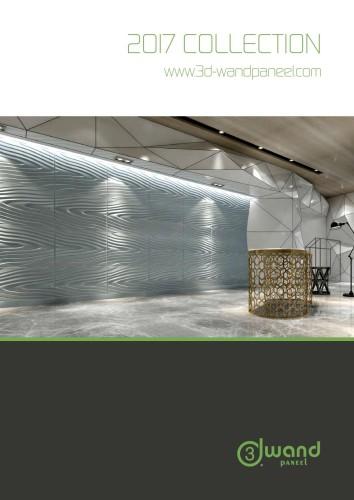 3D Paneele für Wand und Decke aus Bambusfaser und Zuckerrohr - Collection 2017